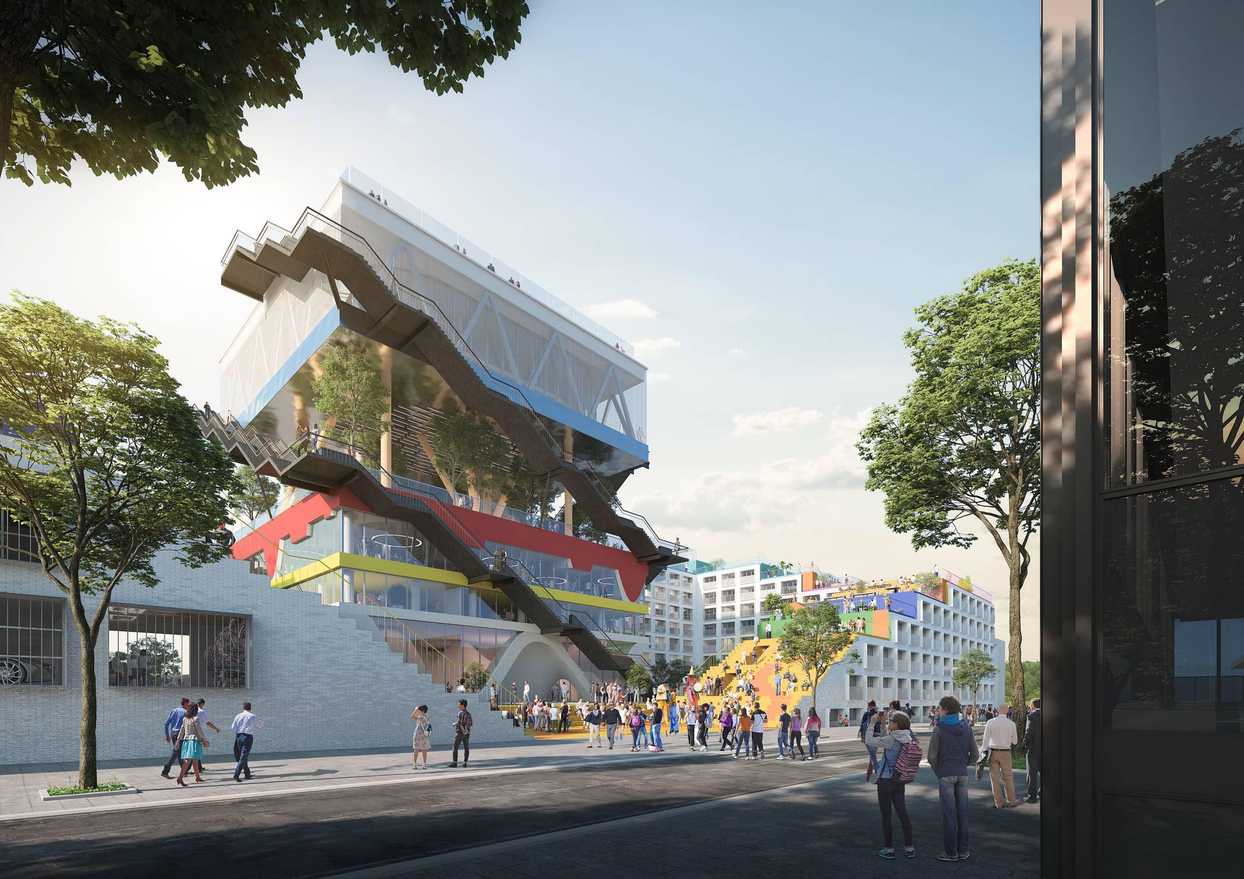 Проект Expo Pavilion 2.0 от MVRDV. Источник изображения: MVRDV